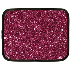 New Sparkling Glitter Print J Netbook Case (large) by MoreColorsinLife