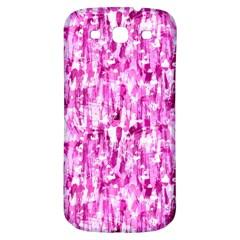 Pink Grunge Love Samsung Galaxy S3 S Iii Classic Hardshell Back Case by KirstenStar