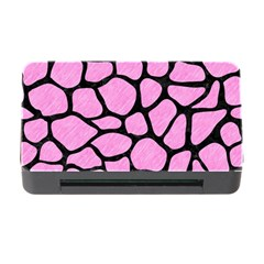 Skin1 Black Marble & Pink Colored Pencil (r) Memory Card Reader With Cf by trendistuff