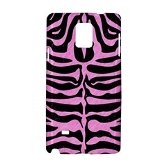 Skin2 Black Marble & Pink Colored Pencil (r) Samsung Galaxy Note 4 Hardshell Case by trendistuff