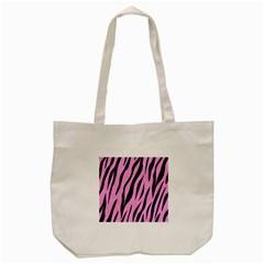 Skin3 Black Marble & Pink Colored Pencil Tote Bag (cream) by trendistuff