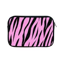 Skin3 Black Marble & Pink Colored Pencil Apple Ipad Mini Zipper Cases by trendistuff