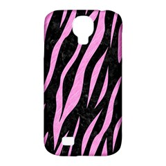 Skin3 Black Marble & Pink Colored Pencil (r) Samsung Galaxy S4 Classic Hardshell Case (pc+silicone) by trendistuff
