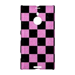 Square1 Black Marble & Pink Colored Pencil Nokia Lumia 1520 by trendistuff