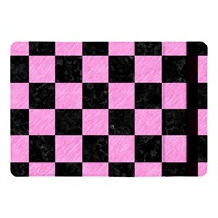 Square1 Black Marble & Pink Colored Pencil Apple Ipad Pro 10 5   Flip Case