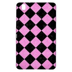 Square2 Black Marble & Pink Colored Pencil Samsung Galaxy Tab Pro 8 4 Hardshell Case by trendistuff
