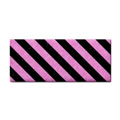 Stripes3 Black Marble & Pink Colored Pencil Cosmetic Storage Cases by trendistuff
