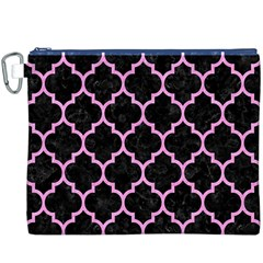 Tile1 Black Marble & Pink Colored Pencil (r) Canvas Cosmetic Bag (xxxl) by trendistuff