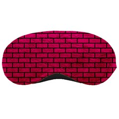 Brick1 Black Marble & Pink Leather Sleeping Masks by trendistuff