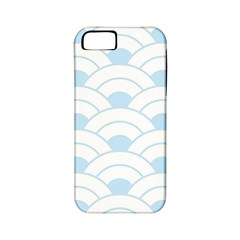 Blue,white,shell,pattern Apple Iphone 5 Classic Hardshell Case (pc+silicone) by 8fugoso