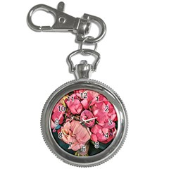 Beautiful Peonies Key Chain Watches by 8fugoso