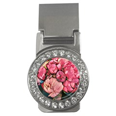 Beautiful Peonies Money Clips (cz)  by 8fugoso