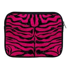 Skin2 Black Marble & Pink Leather Apple Ipad 2/3/4 Zipper Cases by trendistuff