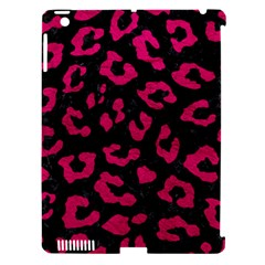Skin5 Black Marble & Pink Leather Apple Ipad 3/4 Hardshell Case (compatible With Smart Cover) by trendistuff