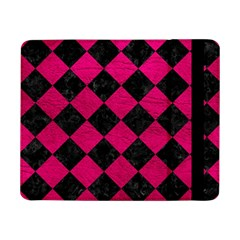 Square2 Black Marble & Pink Leather Samsung Galaxy Tab Pro 8 4  Flip Case by trendistuff