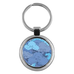 Abstract Nature 1 Key Chains (round)  by tarastyle