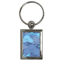 Abstract Nature 1 Key Chains (rectangle)  by tarastyle