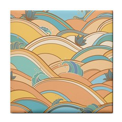 Abstract Nature 5 Tile Coasters by tarastyle