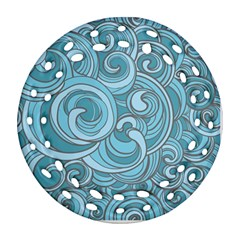 Abstract Nature 8 Ornament (round Filigree) by tarastyle