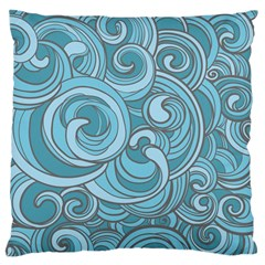 Abstract Nature 8 Large Cushion Case (two Sides) by tarastyle