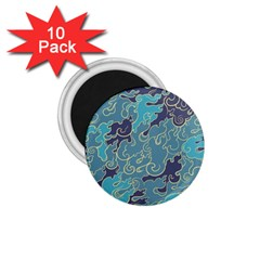 Abstract Nature 10 1 75  Magnets (10 Pack)  by tarastyle