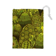 Abstract Nature 11 Drawstring Pouches (large)  by tarastyle