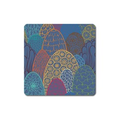 Abstract Nature 13 Square Magnet by tarastyle