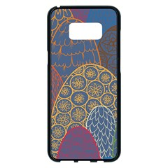 Abstract Nature 13 Samsung Galaxy S8 Plus Black Seamless Case by tarastyle