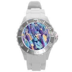 Abstract Nature 15 Round Plastic Sport Watch (l) by tarastyle