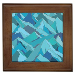 Abstract Nature 17 Framed Tiles by tarastyle