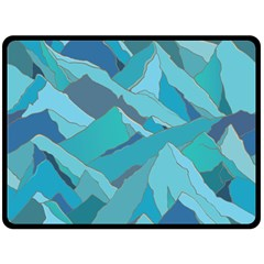 Abstract Nature 17 Fleece Blanket (large)  by tarastyle