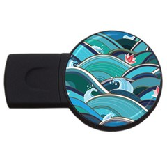 Abstract Nature 19 Usb Flash Drive Round (2 Gb) by tarastyle