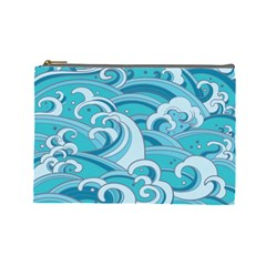 Abstract Nature 20 Cosmetic Bag (large)  by tarastyle