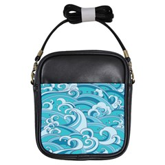 Abstract Nature 20 Girls Sling Bags by tarastyle