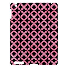 Circles3 Black Marble & Pink Watercolor (r) Apple Ipad 3/4 Hardshell Case by trendistuff