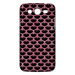 Scales3 Black Marble & Pink Watercolor (r) Samsung Galaxy Mega 5 8 I9152 Hardshell Case  by trendistuff