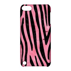 Skin4 Black Marble & Pink Watercolor (r) Apple Ipod Touch 5 Hardshell Case With Stand by trendistuff