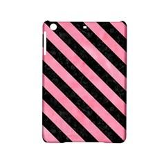 Stripes3 Black Marble & Pink Watercolor Ipad Mini 2 Hardshell Cases by trendistuff