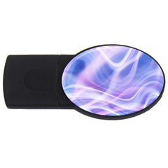 Abstract Graphic Design Background Usb Flash Drive Oval (2 Gb) by Onesevenart