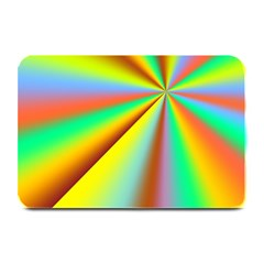 Burst Radial Shine Sunburst Sun Plate Mats by Onesevenart
