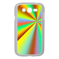 Burst Radial Shine Sunburst Sun Samsung Galaxy Grand Duos I9082 Case (white) by Onesevenart