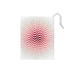 Art Abstract Art Abstract Drawstring Pouches (small)  by Onesevenart