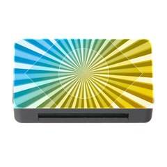 Abstract Art Art Radiation Memory Card Reader With Cf by Onesevenart