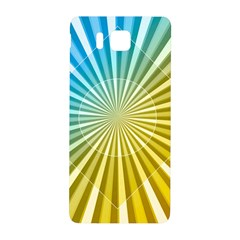 Abstract Art Art Radiation Samsung Galaxy Alpha Hardshell Back Case by Onesevenart