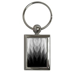 Feather Graphic Design Background Key Chains (rectangle)  by Onesevenart