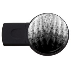 Feather Graphic Design Background Usb Flash Drive Round (4 Gb) by Onesevenart