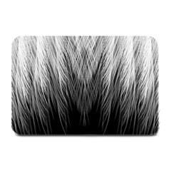 Feather Graphic Design Background Plate Mats by Onesevenart