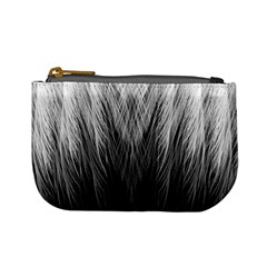 Feather Graphic Design Background Mini Coin Purses by Onesevenart