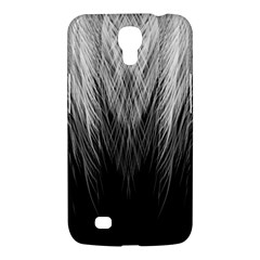 Feather Graphic Design Background Samsung Galaxy Mega 6 3  I9200 Hardshell Case by Onesevenart