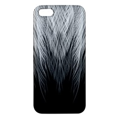 Feather Graphic Design Background Iphone 5s/ Se Premium Hardshell Case by Onesevenart